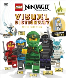 LEGO NINJAGO Visual Dictionary New Edition : With Exclusive Teen Wu Minifigure