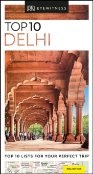 DK Eyewitness Top 10 Delhi, Paperback / softback Book