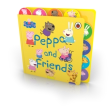 Peppa Pig: Peppa and Friends : Tabbed Board Book, Board book Book