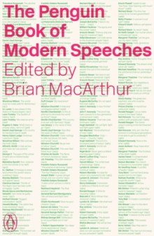 The Penguin Book of Modern Speeches, Paperback Book