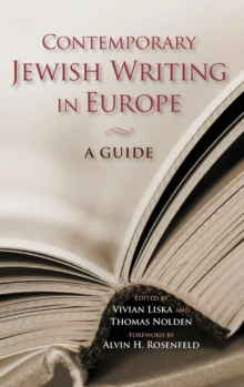 Contemporary Jewish Writing in Europe : A Guide, Hardback Book