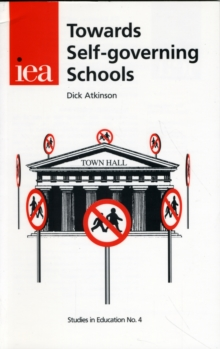 Towards Self-Governing Schools, Paperback / softback Book