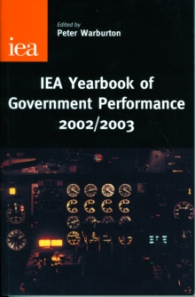 IEA Yearbook of Government Performance, Hardback Book