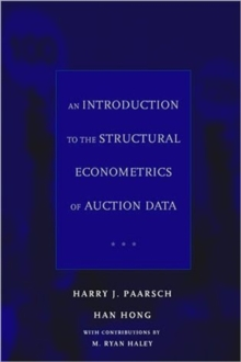 An Introduction to the Structural Econometrics of Auction Data, Hardback Book
