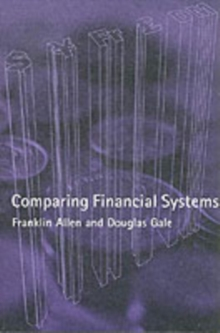 Comparing Financial Systems, Paperback Book