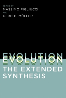 Evolution, the Extended Synthesis, Paperback / softback Book