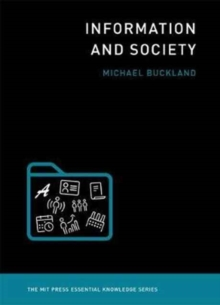 Information and Society, Paperback / softback Book