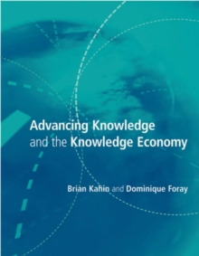 Advancing Knowledge and The Knowledge Economy, Paperback / softback Book