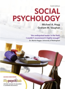 Social Psychology with MyPsychLab, Mixed media product Book