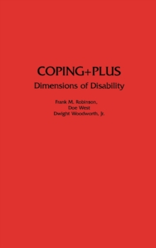 Coping+Plus : Dimensions of Disability, Hardback Book