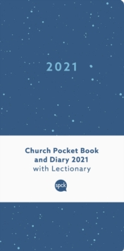 Church Pocket Book and Diary 2021 Blue Sea, Hardback Book