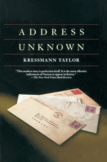 Address Unknown, Hardback Book