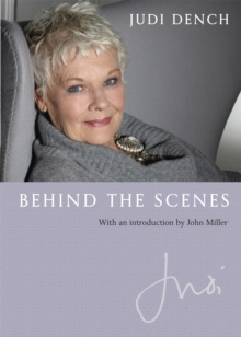 Judi: Behind the Scenes : With an Introduction by John Miller, Hardback Book