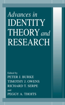 Advances in Identity Theory and Research, Paperback / softback Book