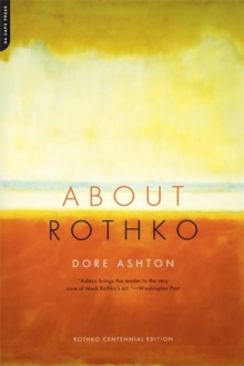 About Rothko, Paperback / softback Book