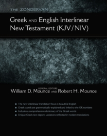 The Zondervan Greek and English Interlinear New Testament (KJV/NIV), Paperback / softback Book