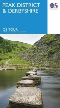Peak District & Derbyshire, Sheet map, folded Book