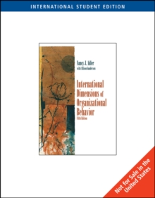 International Dimensions of Organizational Behavior, International Edition, Paperback Book