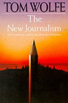 The New Journalism, Paperback Book