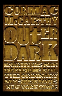 Outer Dark, Paperback Book