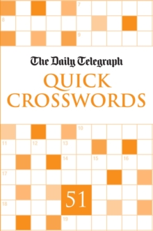 """Daily Telegraph"" Quick Crosswords 51 : 51, Paperback Book"