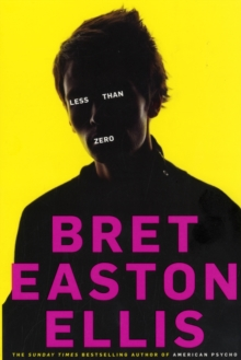 Less Than Zero, Paperback Book