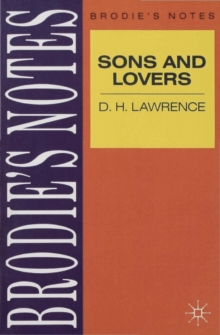 Lawrence: Sons and Lovers, Paperback Book
