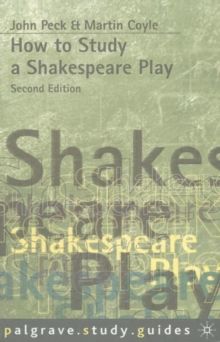 How to Study a Shakespeare Play, Paperback Book