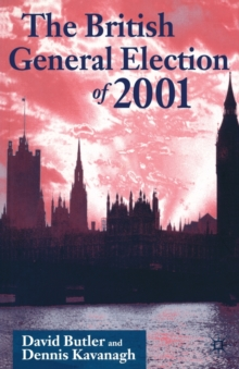 The British General Election of 2001, Paperback Book