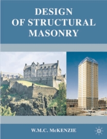 Design of Structural Masonry, Paperback Book