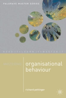 Mastering Organisational Behaviour, Paperback Book