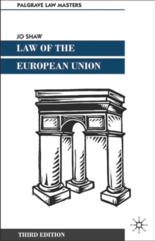 Law of the European Union, Paperback Book