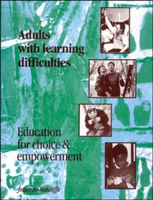 ADULTS WITH LEARNING DIFFICULTIES, Paperback Book