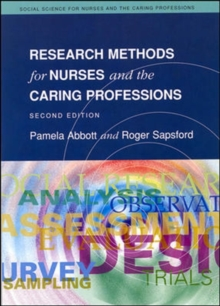 Research Methods For Nurses And The Caring Professions 2/E, Paperback Book