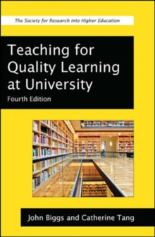 Teaching for Quality Learning at University, Paperback Book