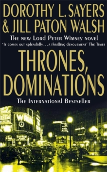 Thrones, Dominations, Paperback Book