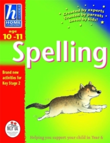 Hodder Home Learning: Age 10-11 Spelling, Paperback Book