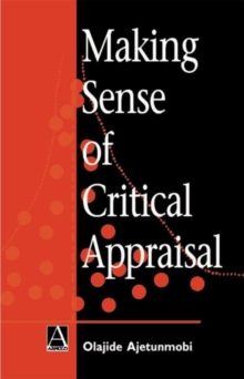 Making Sense of Critical Appraisal, Paperback Book