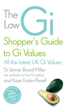 The Low GI Shopper's Guide to GI Values, Paperback Book