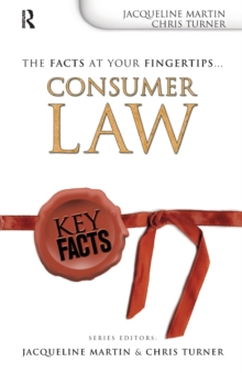 Key Facts: Consumer Law, Paperback Book