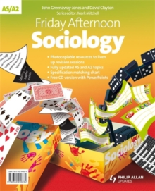 Friday Afternoon AS/A2 Sociology Resource Pack + CD, Spiral bound Book