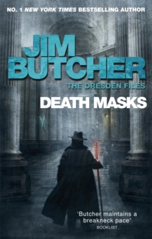 Death Masks : The Dresden Files, Book Five, Paperback Book