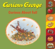 Curious George Curious About Fall (tabbed board book), Board book Book