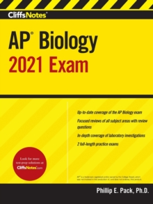 CliffsNotes AP Biology 2021 Exam, Paperback Book