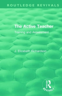 The Active Teacher : Training and Assessment, Hardback Book