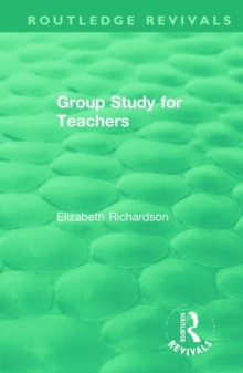 Group Study for Teachers, Hardback Book