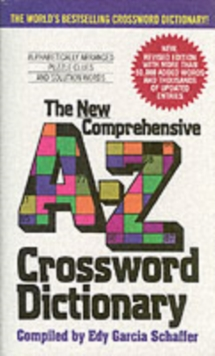 New Comprehensive A-Z Crossword Dictionary, Paperback Book