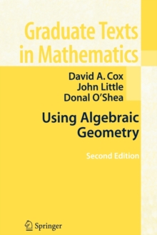 Using Algebraic Geometry, Paperback / softback Book