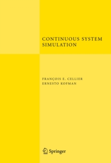 Continuous System Simulation, Hardback Book