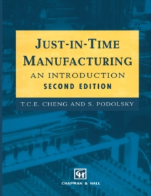 Just-in-Time Manufacturing : An introduction, Paperback / softback Book